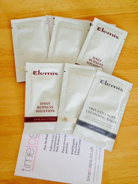 Elemis samples