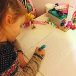 This little one just loves to write I took ahellip
