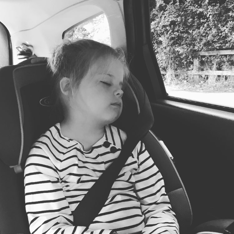 School holidays must be almost here! This one is just exhausted. Roll on the holidays and lazy mornings!