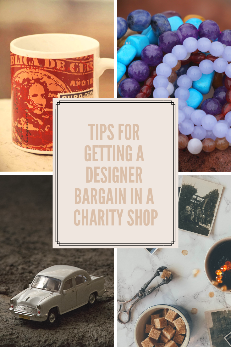 Tips for getting a designer bargain in a charity shop