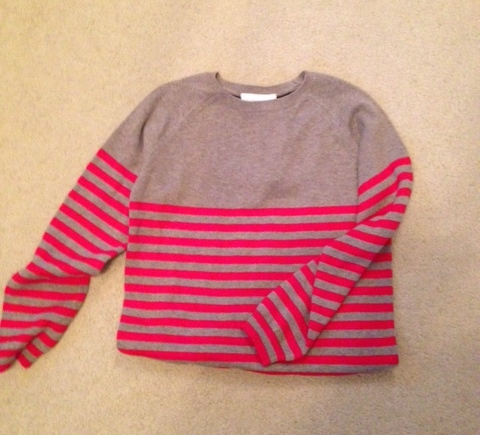 white company jumper