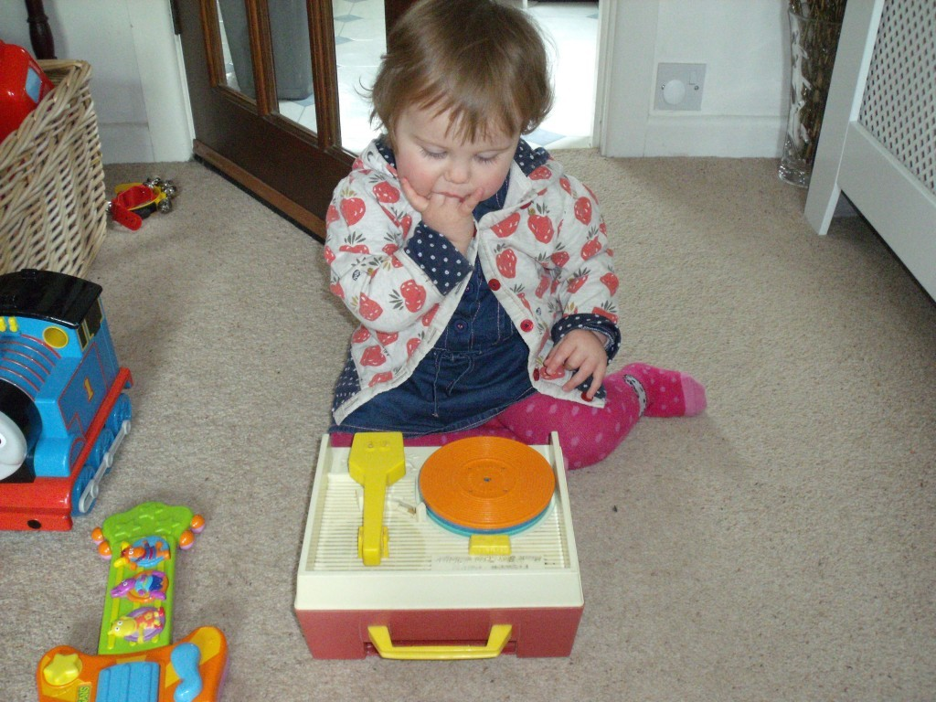 retro fisherprice record player