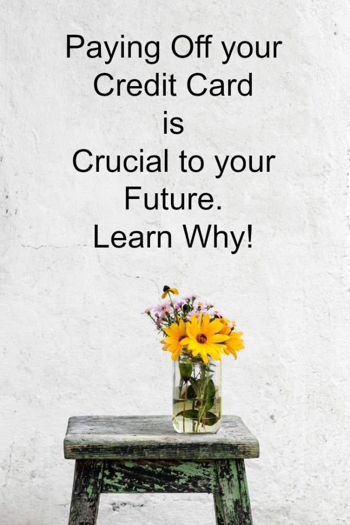Paying Off your Credit Card is Crucial to your Future. Learn Why!