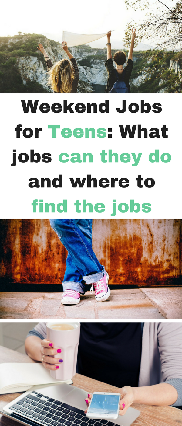 weekend jobs for teens  what jobs can they do and where to