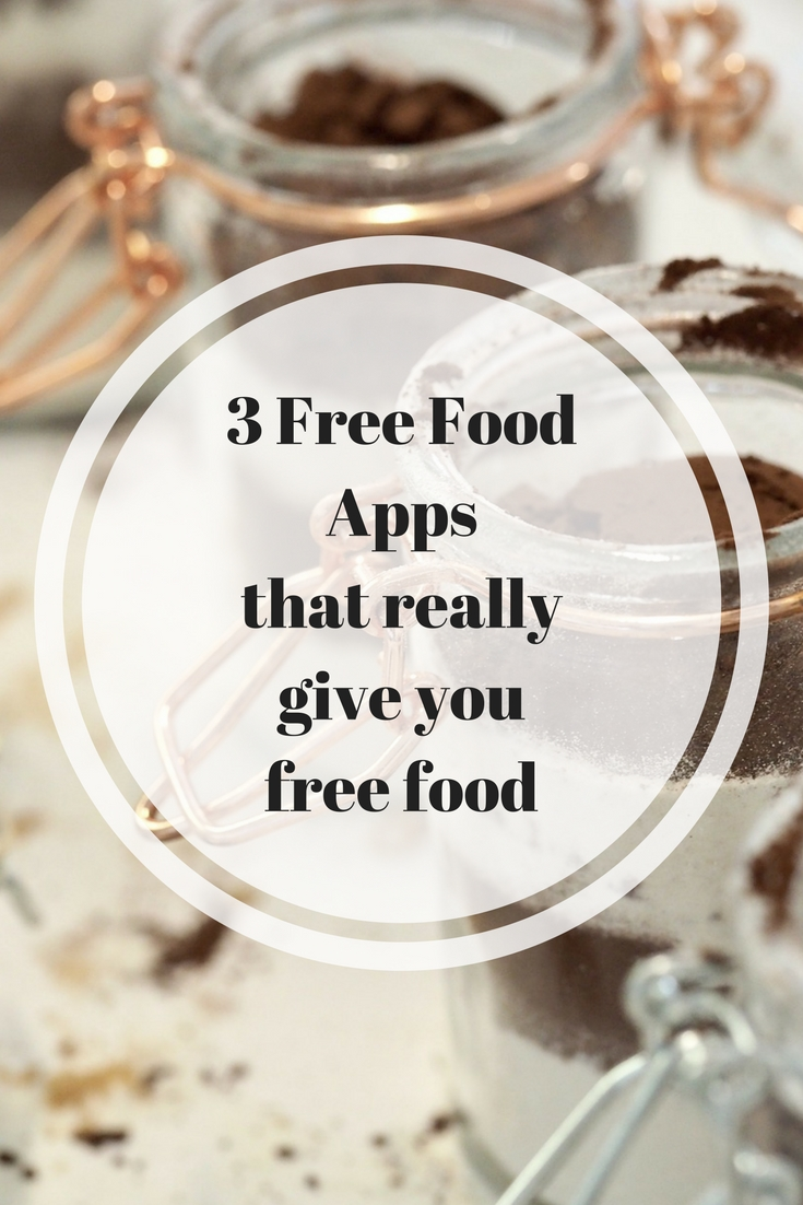 3 Free Food Apps that really give you free food