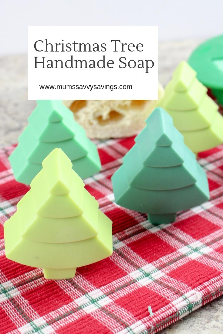 Christmas Tree Handmade Soap instructions