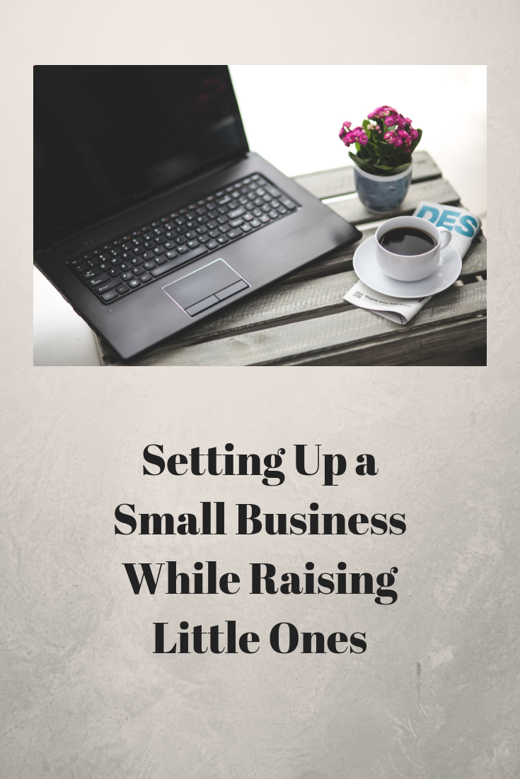 Setting Up a Small Business While Raising Little Ones