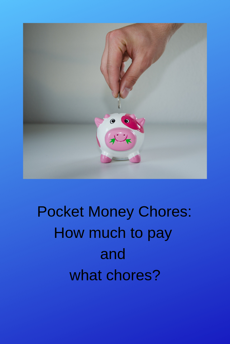 Pocket Money Chores: Ideas for kids who want to make money!